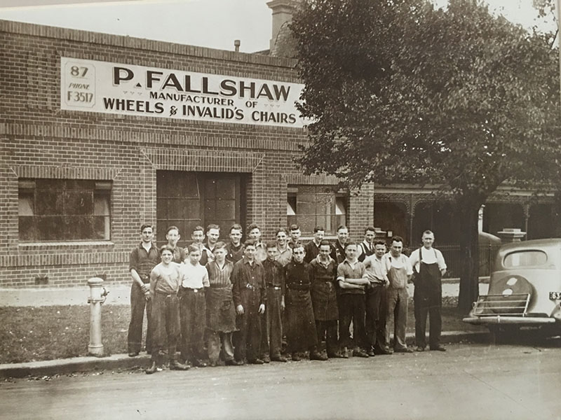 The Percy Fallshaw Wheelchair factory